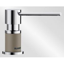 Дозатор Blanco Lato серый беж 525816