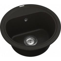Кухонная мойка VANKOR Lira LMR 01.44 Black