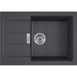 Кухонная мойка Franke S2D Slim 611-62 черный