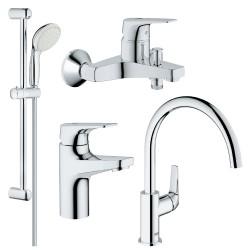 Набор смесителей для ванной Grohe 121640K