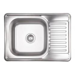 Кухонная мойка Lidz 6950 матовая
