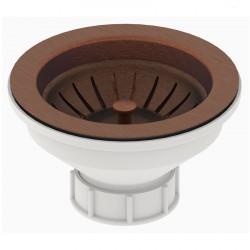 Вентиль с круглым переливом LB PLAST D670-COP