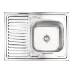 Кухонная мойка Lidz 6080-R декор
