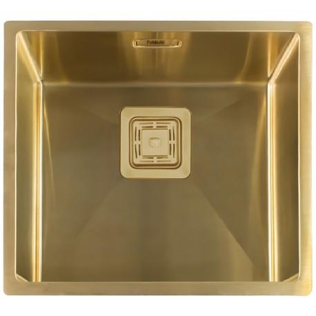 Кухонная мойка Fabiano Quadro 49 Nano Gold