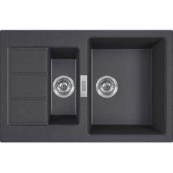 Кухонная мойка Franke S2D 651-78 черный