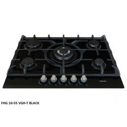 Варочная поверхность Fabiano FHG 10-55 VGH-T Black Glass
