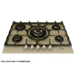 Варочная поверхность Fabiano FHG 10-55 VGH-T Champagne