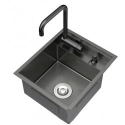 Кухонная мойка Germece/Platinum 50х50/220 PVD