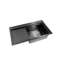 Кухонная мойка Germece 7843BL R PVD Handmade