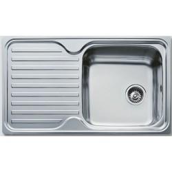 Кухонная мойка Teka Classic 1B 1D полированная