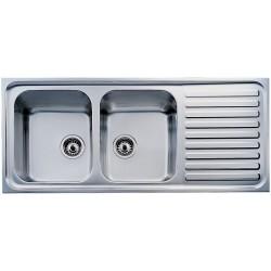 Кухонная мойка Teka Classic 2B 1D микродекор