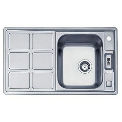 Кухонная мойка Teka Cuadro 45 B микродекор