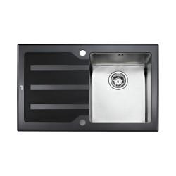 Кухонная мойка Teka Lux 1B 1D 78 LHD полированная