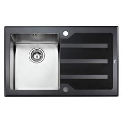 Кухонная мойка Teka Lux 1B 1D 78 RHD полированная