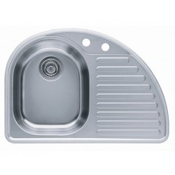 Кухонная мойка ALVEUS FUTUR 10L полированная левосторонняя