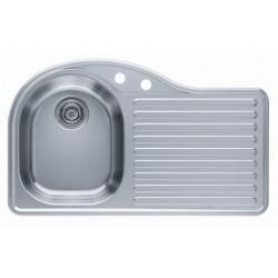 Кухонная мойка ALVEUS FUTUR 30L полированная левос