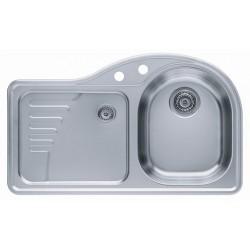 Кухонная мойка ALVEUS FUTUR 40R декор правосторонн