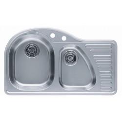 Кухонная мойка ALVEUS FUTUR 50L полированная левос